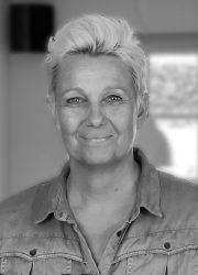 sort hvid profil foto